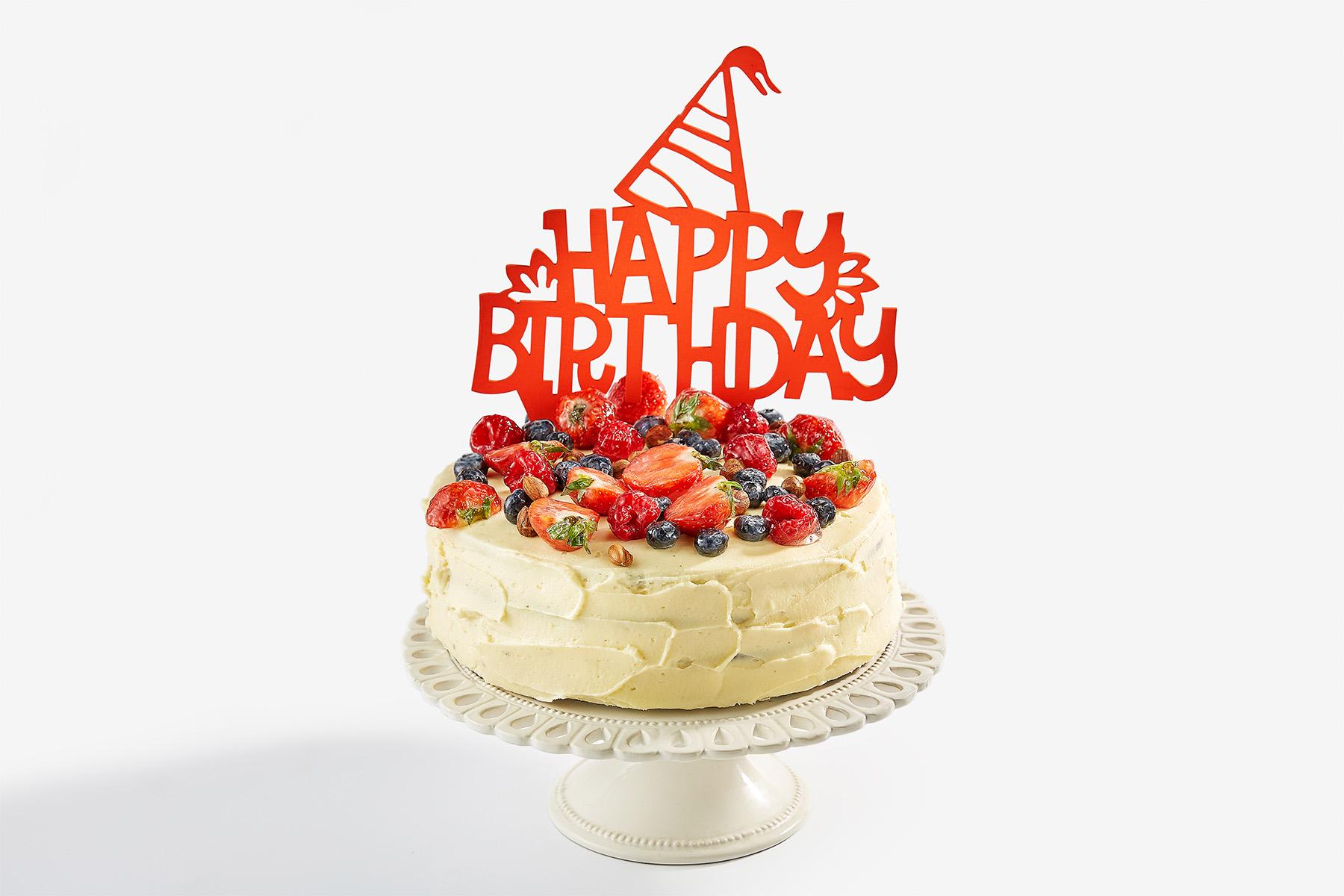 Анимация девушка из торта - Мужчине с днем рождения 12